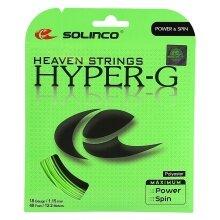 Solinco Tennissaite Hyper G (Haltbarkeit+Power) grün 12m Set