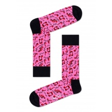 Happy Socks Tagessocke Crew City Jazz pink 1er
