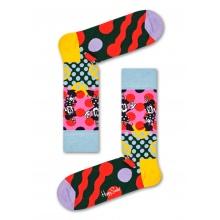 Happy Socks Tagessocke Crew Disney Minnie Time pink 1er