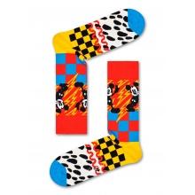 Happy Socks Tagessocke Crew Disney Mickey Time bunt 1er