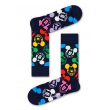 Happy Socks Tagessocke Crew Disney Colorful Character dunkelblau 1er