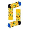 Happy Socks Tagessocke Crew Easter Bunny (Osterhase) gelb - 1 Paar