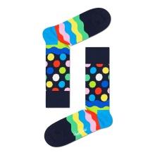 Happy Socks Tagessocke Crew Easter Wave (Ostern) bunt - 1 Paar