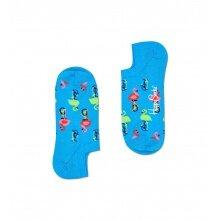 Happy Socks Tagessocke No Show Sneaker Flamingo blau - 1 Paar