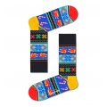 Happy Socks Tagessocke Crew Happy Holiday Hähnchen/Broiler bunt - 1 Paar