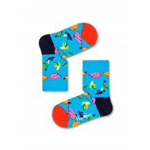 Happy Socks Tagessocke Kids Banana (Banane) hellblau 1er Boys/Girls