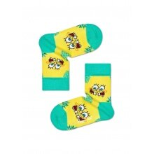 Happy Socks Tagessocke Sponge Bob Fineapple Surprise gelb 1er Boys/Girls
