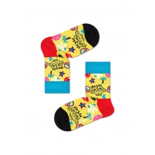 Happy Socks Tagessocke Sponge Bob Smile Storm gelb 1er Boys/Girls