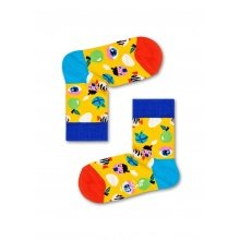Happy Socks Tagessocke Fantasy Egg gelb 1er Boys/Girls