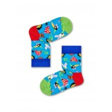 Happy Socks Tagessocke Party Animal blau 1er Boys/Girls