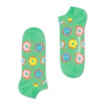 Happy Socks Tagessocke Sneaker Donut grün - 1 Paar