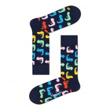 Happy Socks Tagessocke Crew World´s Strong navy - 1 Paar