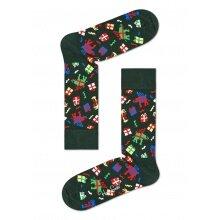 Happy Socks Tagessocke Crew Wish dunkelgrün 1er