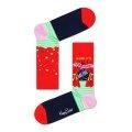 Happy Socks Tagessocke Crew World´s Strongest Mom rot/pink - 1 Paar