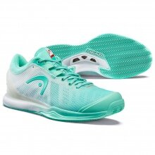 Head Sprint Pro 3.0 Clay 2020 mint/weiss Tennisschuhe Damen
