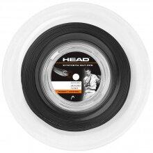 Head Tennissaite Synthetic Gut PPS (Power+Kontrolle) schwarz 200 Meter Rolle