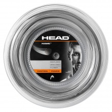 Head Tennissaite Hawk (Haltbarkeit+Power) grau 200m Rolle