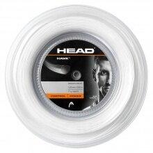 Head Tennissaite Hawk (Haltbarkeit+Power) weiss 200m Rolle