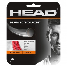 Head Tennissaite Hawk Touch (Haltbarkeit+Kontrolle) rot 12 Set