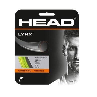 Besaitung mit Head Lynx gelb