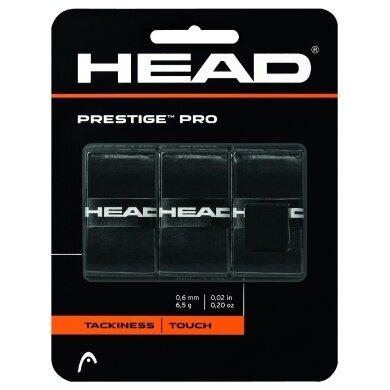 Head Overgrip Prestige Pro 0.6mm schwarz 3er