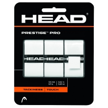 Head Overgrip Prestige Pro 0.6mm weiss 3er