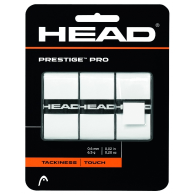 Head Prestige Pro Overgrip 3er weiss