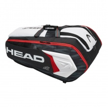 Head Racketbag Djokovic 12R Monstercombi 2018 schwarz/weiss/rot