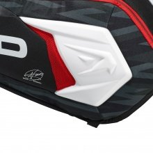 Head Racketbag Djokovic 9R Supercombibag 2018 schwarz/weiss/rot