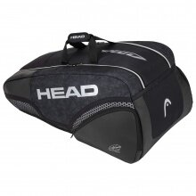 Head Racketbag Djokovic 9R Supercombibag 2020 schwarz