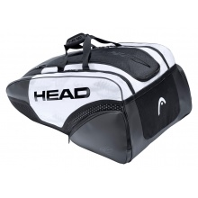 Head Racketbag (Tennistasche) Djokovic 12R Monstercombi 2021 weiss/schwarz