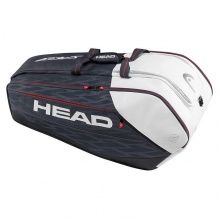 Head Djokovic 12R Monstercombi 2016 schwarz/weiss/rot