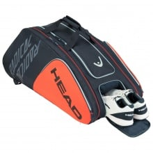 Head Racketbag Radical 12R Monstercombi orange/grau