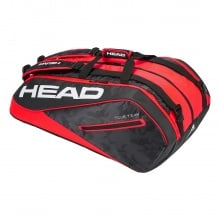 Head Racketbag Tour Team 12R Monstercombi 2018 schwarz/rot