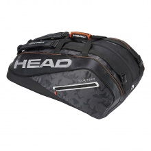 Head Racketbag Tour Team 12R Monstercombi 2018 schwarz/silber