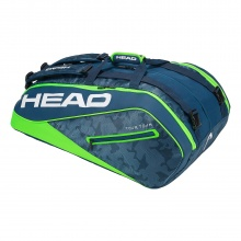 Head Racketbag Tour Team 12R Monstercombi navy/lime