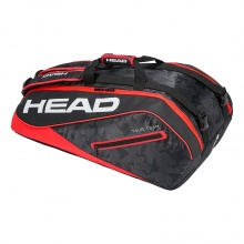 Head Racketbag Tour Team 9R Supercombi 2018 schwarz/rot
