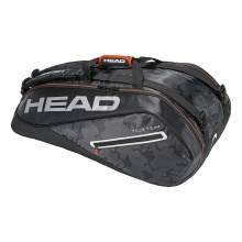 Head Racketbag Tour Team 9R Supercombi 2018 schwarz/silber