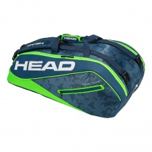 Head Racketbag Tour Team 9R Supercombi 2018 navy/lime