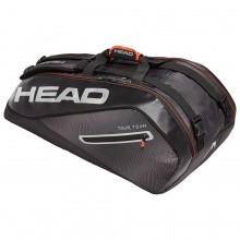 Head Racketbag Tour Team 9R Supercombi 2019 schwarz/silber