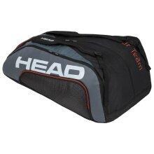 Head Racketbag Tour Team 15R Megacombi 2020 schwarz/grau