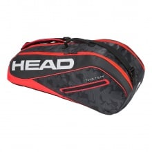 Head Racketbag Tour Team 6R Combi 2018 schwarz/rot