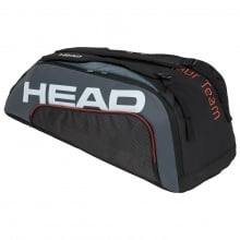 Head Racketbag Tour Team 9R Supercombi 2020 schwarz/grau