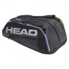 Head Racketbag (Schlägertasche) Tour Team 12R 2021 schwarz/lila - 3 Hauptfächer