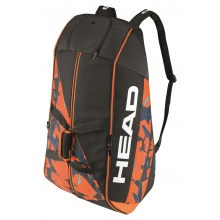 Head Racketbag Radical 12R Monstercombi 2017 schwarz/orange
