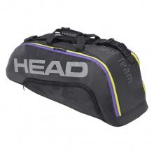 Head Racketbag (Schlägertasche) Tour Team 6R 2021 schwarz/lila - 2 Hauptfächer