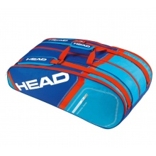 Head Racketbag Core 9R Supercombi 2016 blau/rot