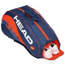 Head Racketbag Radical 12R Monstercombi 2019 dunkelblau/orange