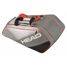 Head Racketbag Elite Allcourt 2017 grau/rot
