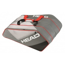 Head Racketbag Elite 12R Monstercombi 2017 grau/rot
